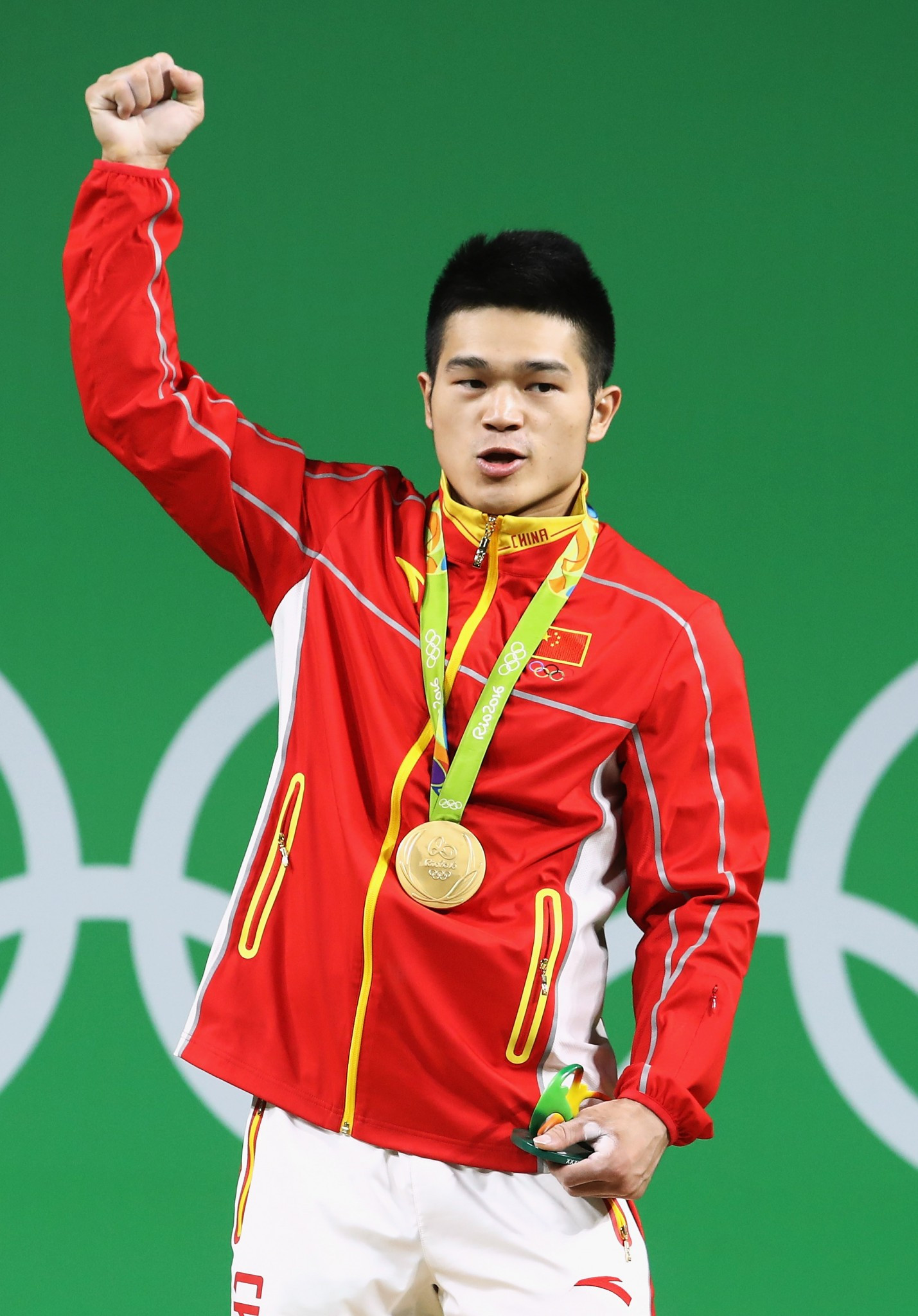 Shi Zhiyong, of China, continued his country's incredible record in weightlifting, with victory in the 69kg category ©Getty Images