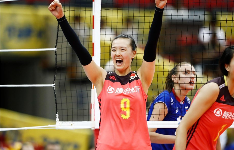 China claim FIVB Women's World Grand Champions Cup title with one match to play