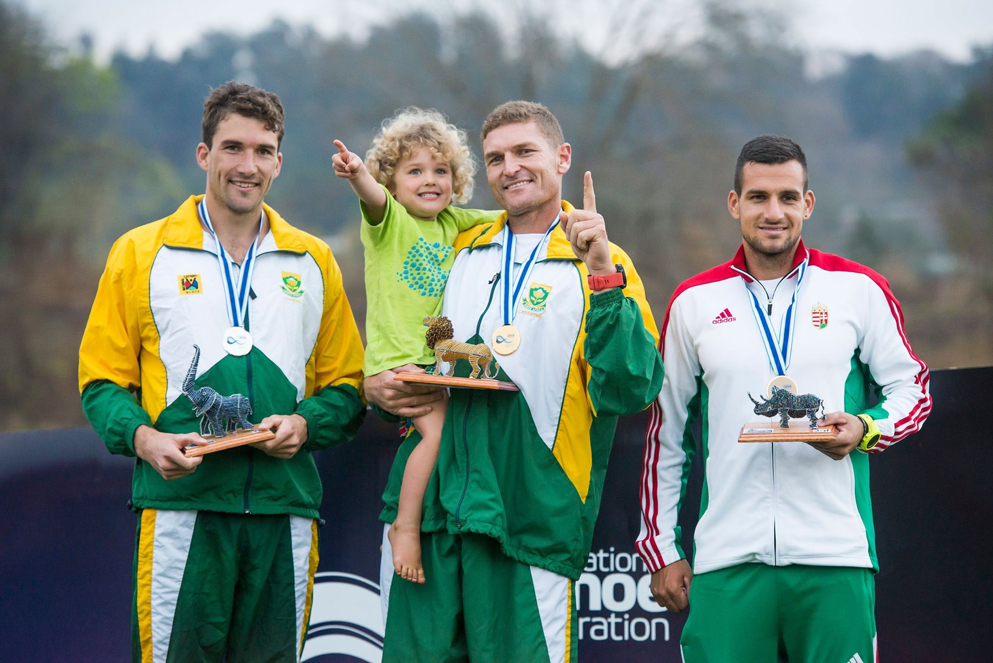 McGregor wins fifth ICF Canoe Marathon World Championships K1 title in a row