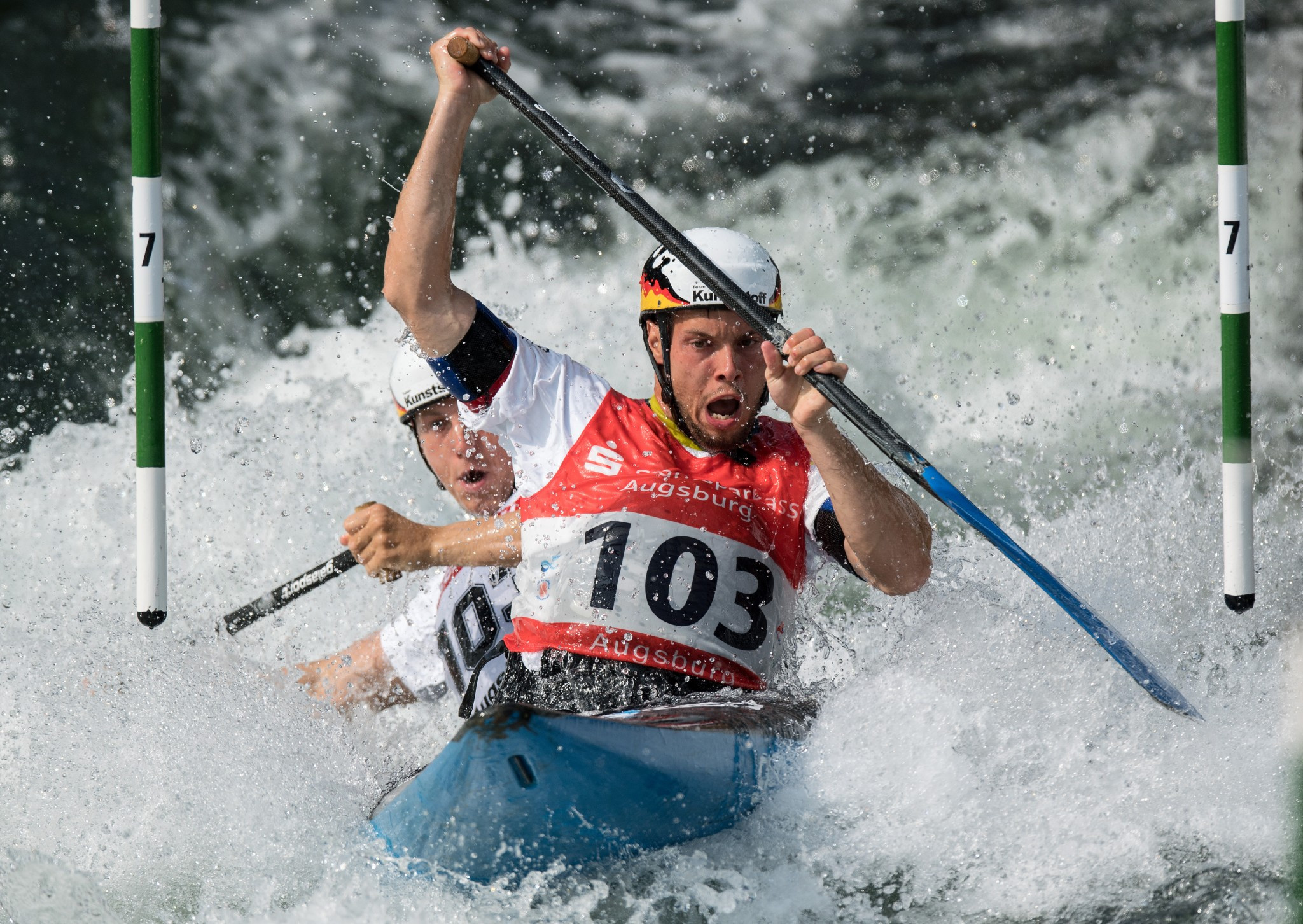 Behling and Becker claim overall title on dramatic day at ICF Canoe Slalom World Cup