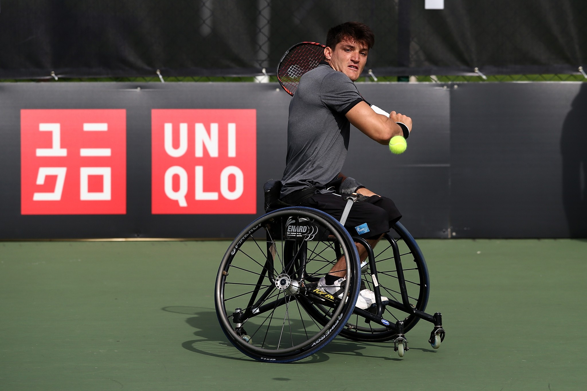 World number one Gustavo Fernández of Argentina has booked his place in the semi-finals of the US Open wheelchair men's singles event ©Getty Images