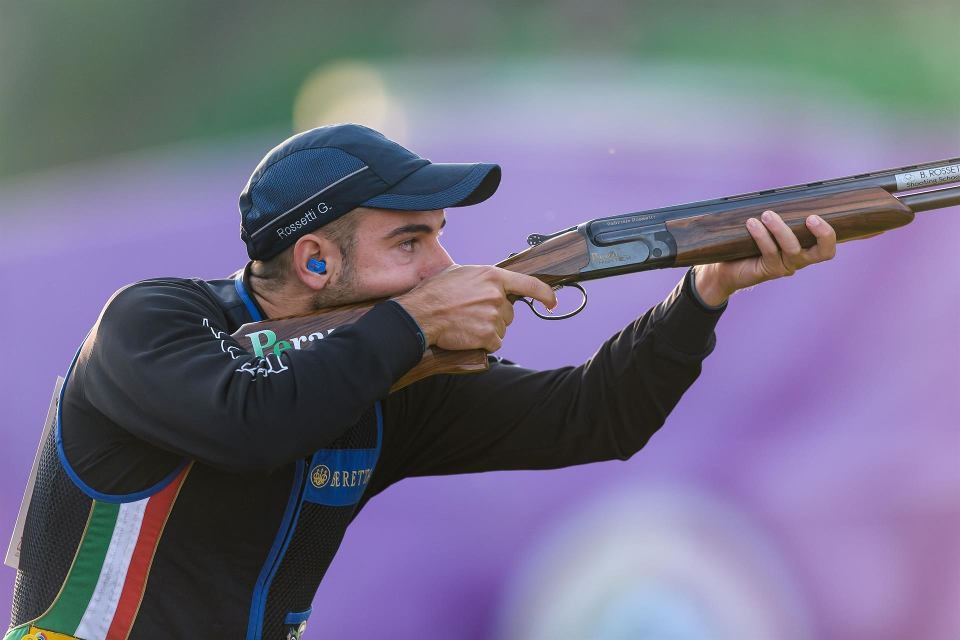 Olympic gold medallist Rossetti wins men's skeet title at ISSF World Championships