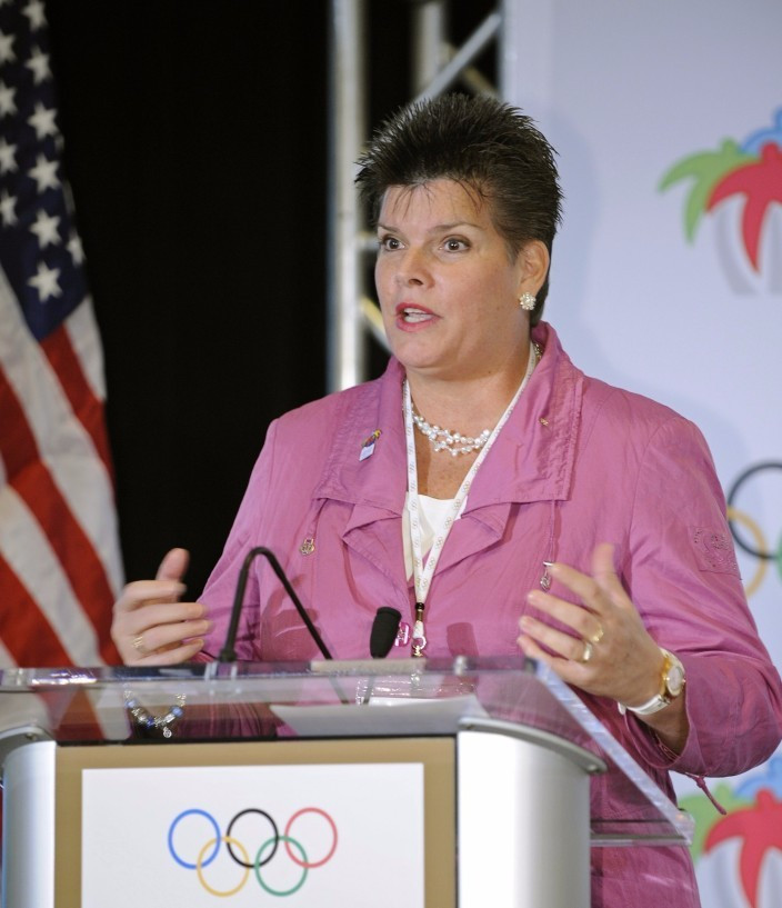 Aruba's Nicole Hoevertsz is one of five members standing to be elected to the IOC Executive Board ©IOC