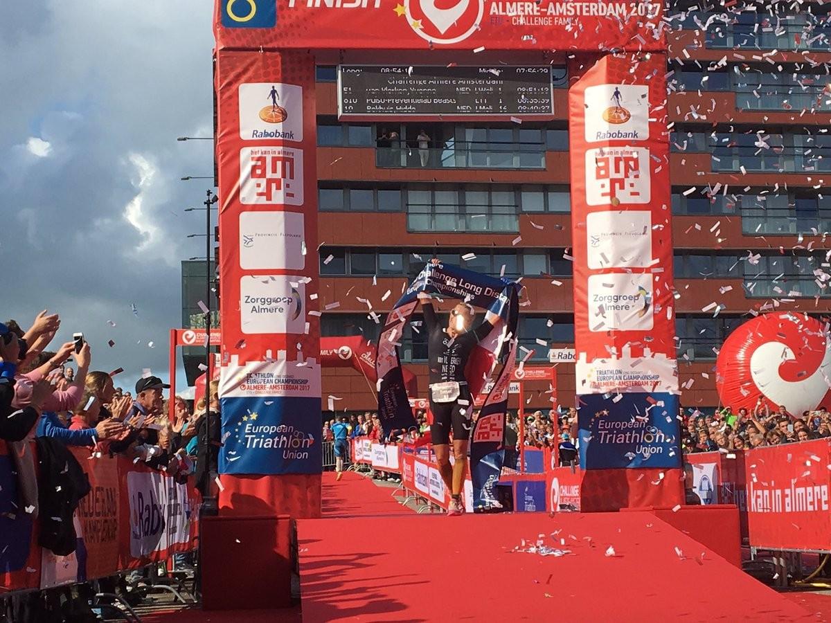 Van Vlerken and Skipper earn ETU Challenge Long Distance Championships titles