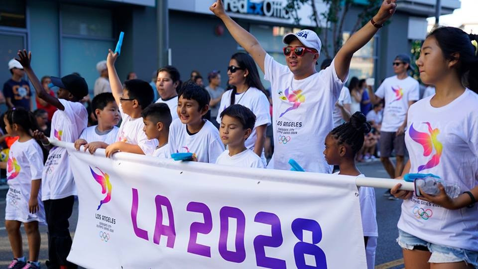 Los Angeles will be officially awarded the 2028 Olympic Games at the IOC Session in Lima ©Los Angeles 2028