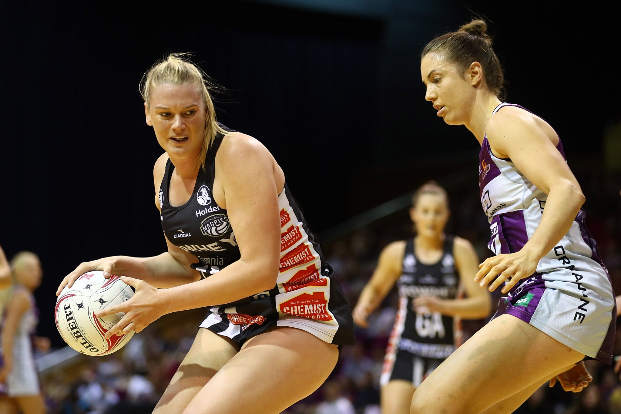 Suncorp Super Netball team Collingwood Magpies will play Wales as a warm-up for the Commonwealth Games ©Getty Images