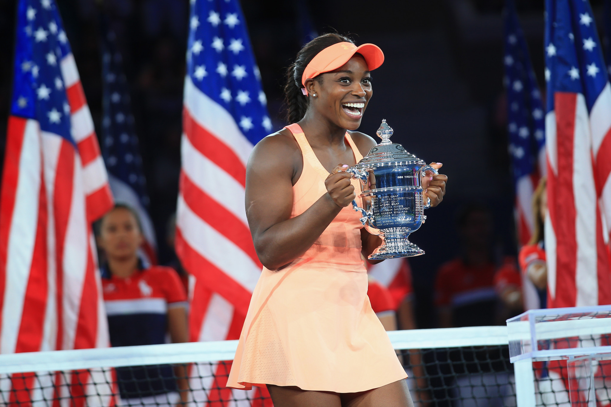 Sloane Stephens has won the women's singles US Open title ©Getty Images