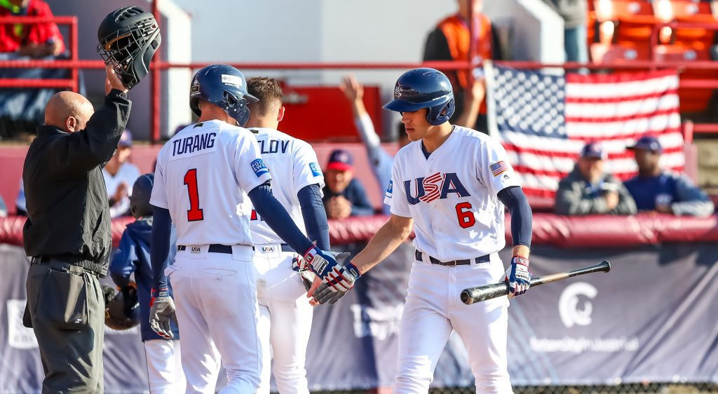 The United States are through to the final in Thunder Bay ©WBSC