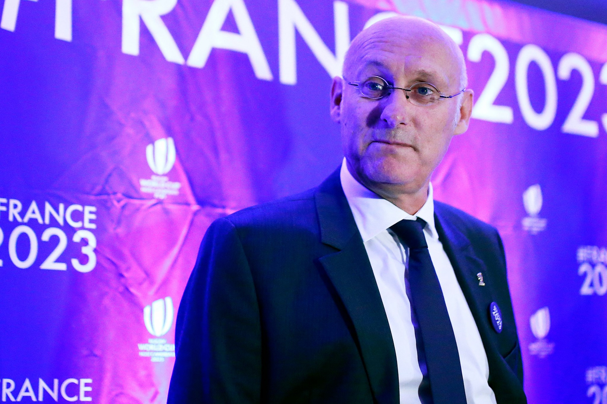 Bernard Laporte, President of the French rugby union, has run into domestic trouble ahead of this momth's crucial presentation in the bid for the 2023 Rugby World Cup ©Getty Images