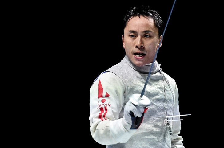 Ota writes name into history books by claiming Japan's first-ever World Fencing Championships title