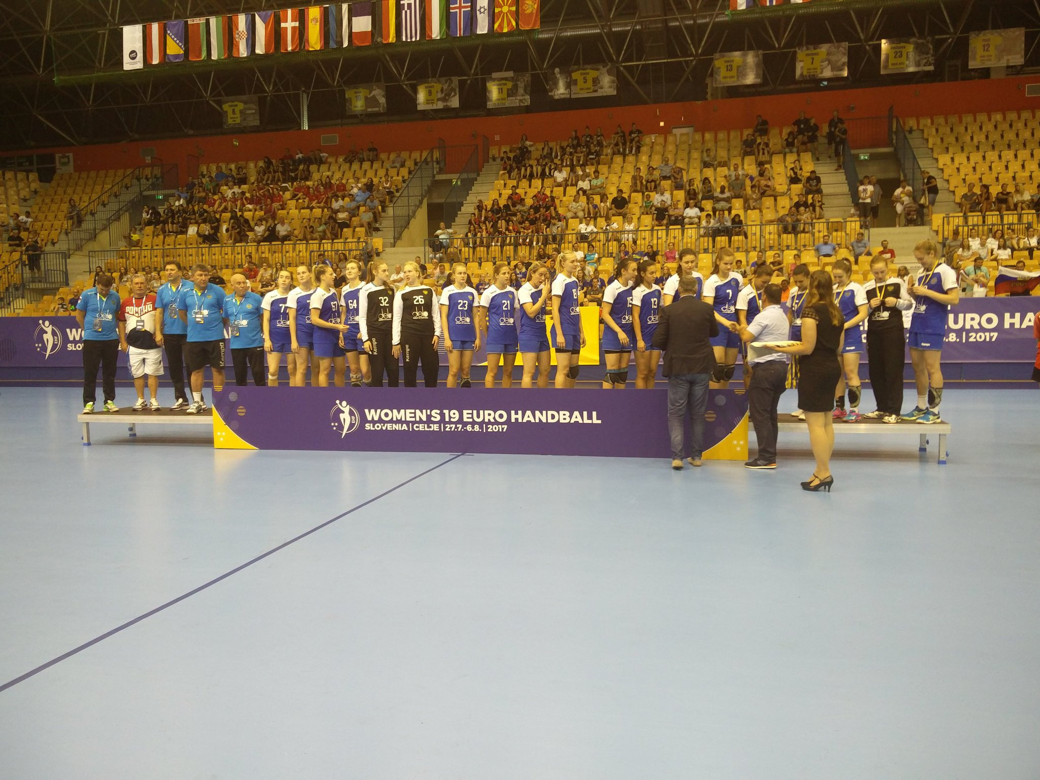 Russia finished second in the tournament last month ©EHF
