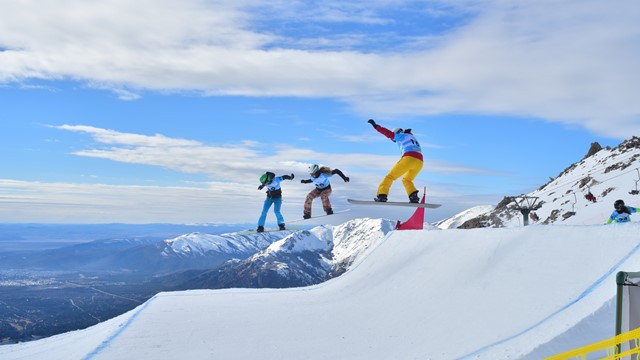 The first event of the season took place in Cerro Catedral in Argentina ©FIS