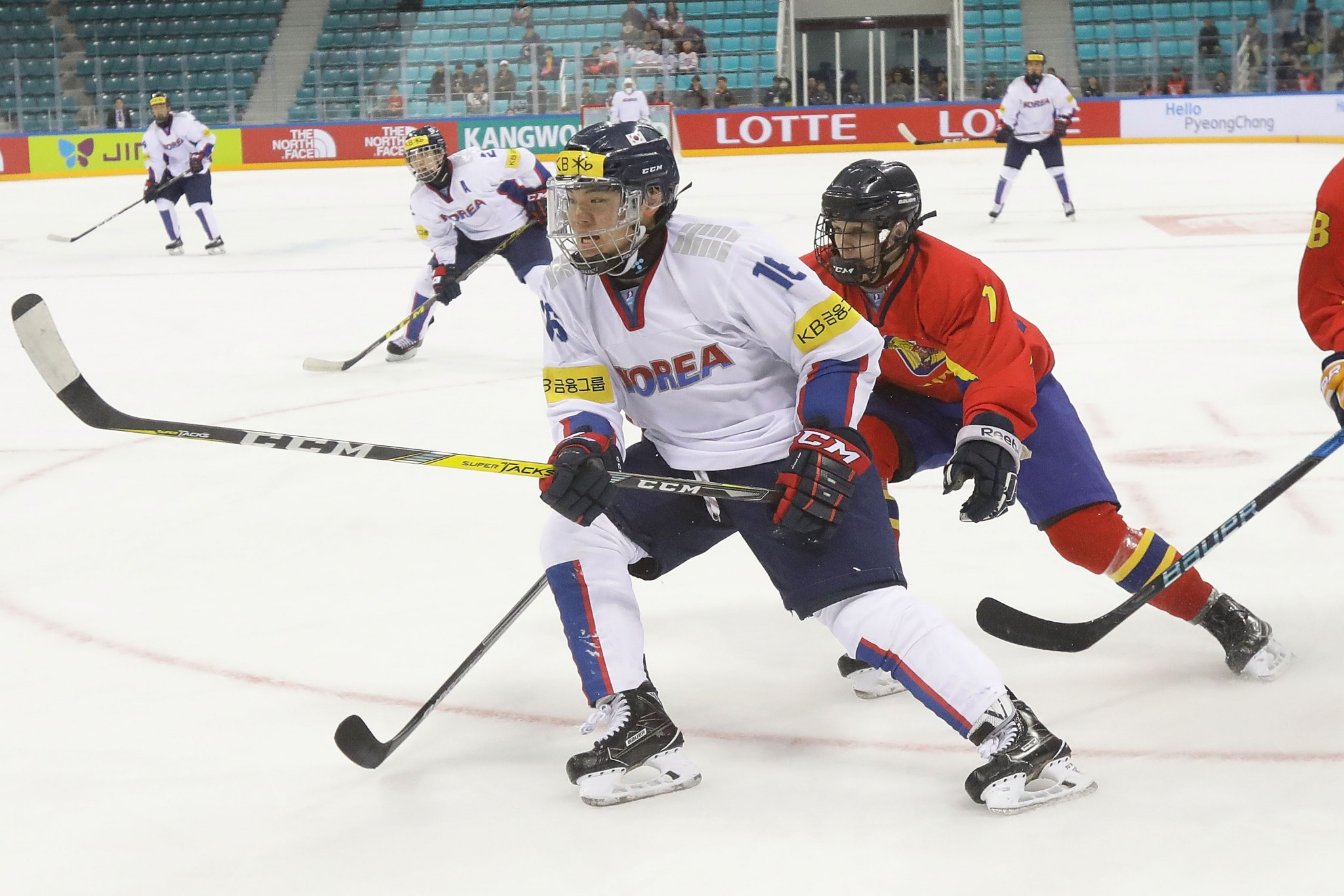 South Korea will make their debut in ice hockey competition at the Games, due to being hosts ©Getty Images