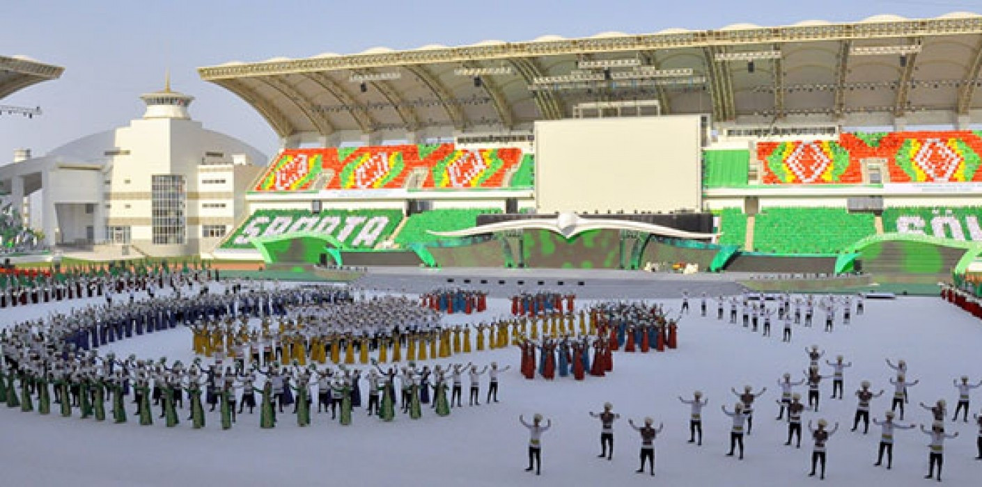Turkmenistan have invested billions of dollars in new facilities preparing for the 5th Asian Indoor and Martial Arts Games in Ashgabat, where 6,000 athletes from 65 countries are due to compete in 21 sports ©Ashgabat 2017