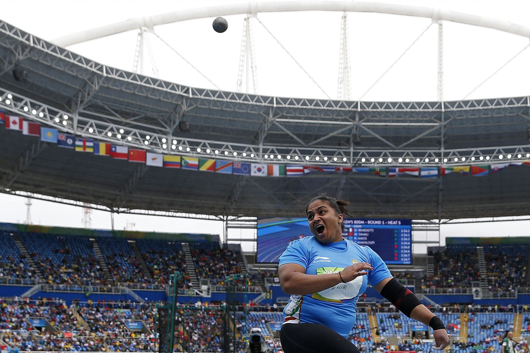 Indian shot putter fails two more tests for same banned stimulant
