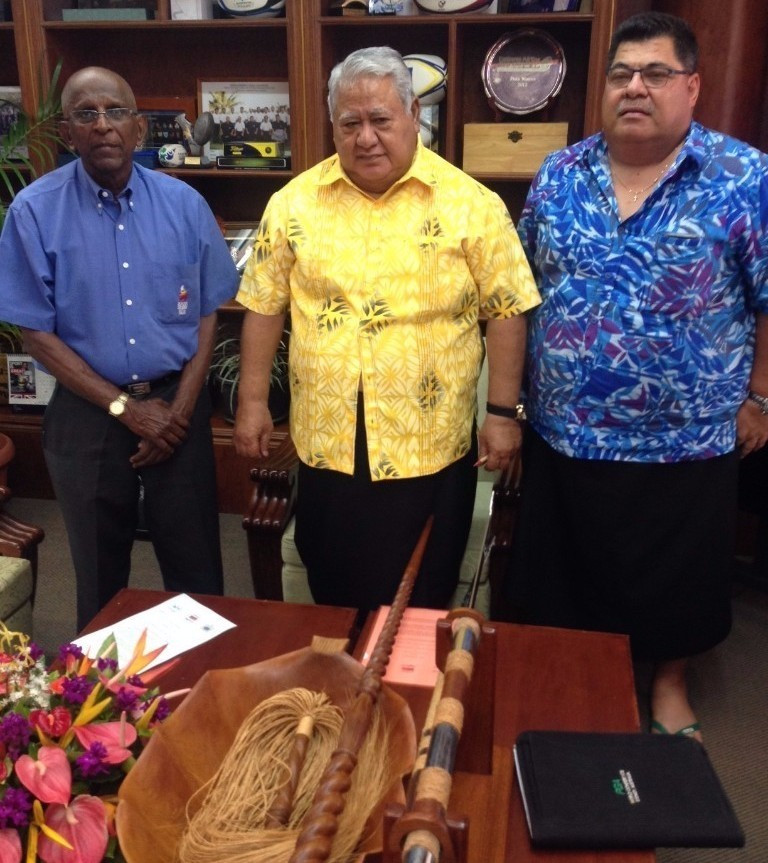 Samoa 2019 organisers sign Pacific Games hosting contracts