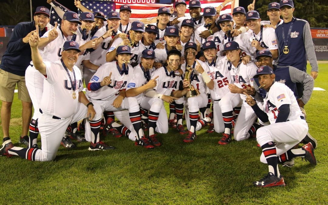 The United States have won their fourth Under-18 Baseball World Cup in a row ©WBSC