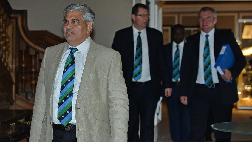 ICC chair Shashank Manohar has said he will ensure a smooth transition of power when his successor takes over ©Getty Images