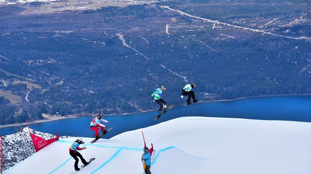 The first and second events of the season took place in Cerro Catedral in Argentina ©FIS