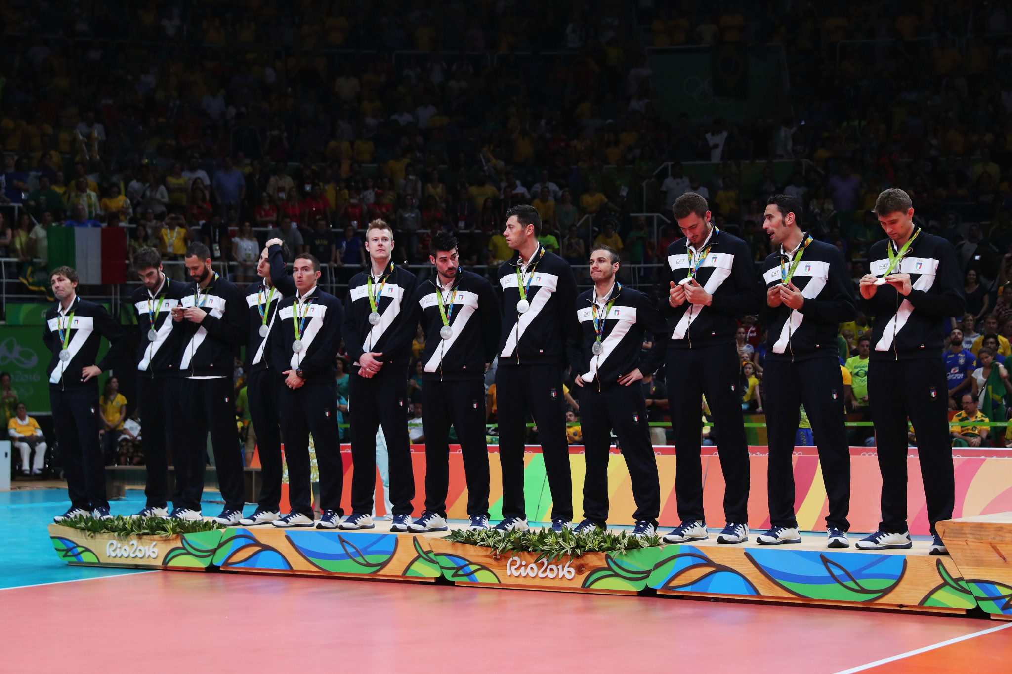 Italy have been handed an FIVB wildcard place after their Rio 2016 silver medal ©Getty Images