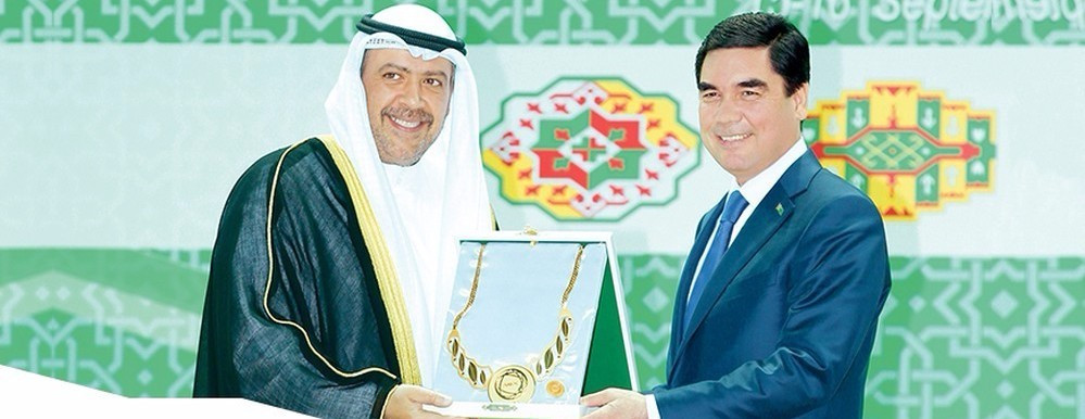 Sheikh Ahmad will miss the IOC Session and plans instead to join Turkmenistan President Gurbanguly Berdimuhamedow in welcoming 20 heads of states to the opening of the Asian Indoor and Martial Arts Games ©OCA