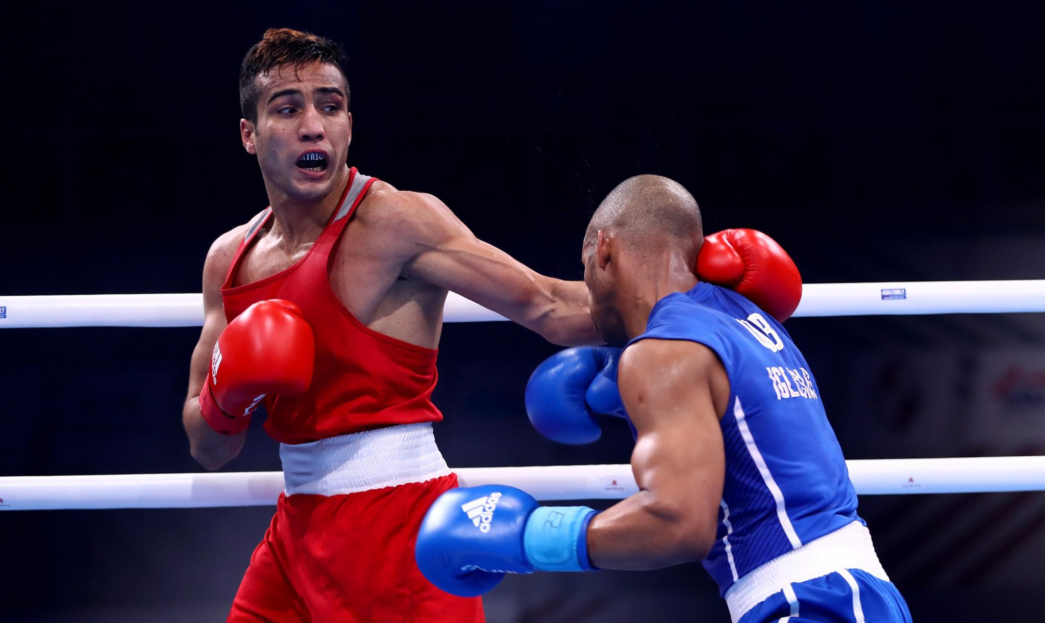 Giyasov voted best boxer of AIBA World Championships