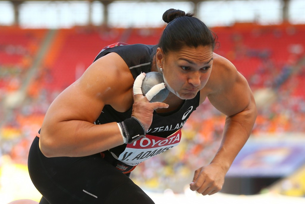 Adams pulls out of defending world shot put title in Beijing