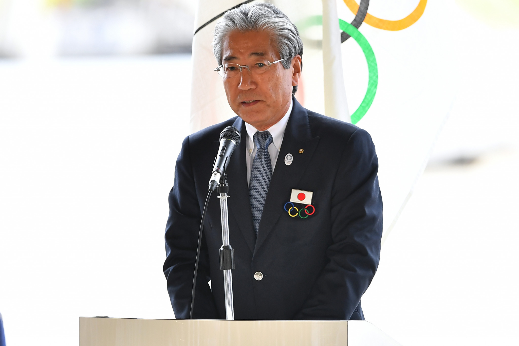 Tsunekazu Takeda will is proposed to remain as an IOC member ©Getty Images