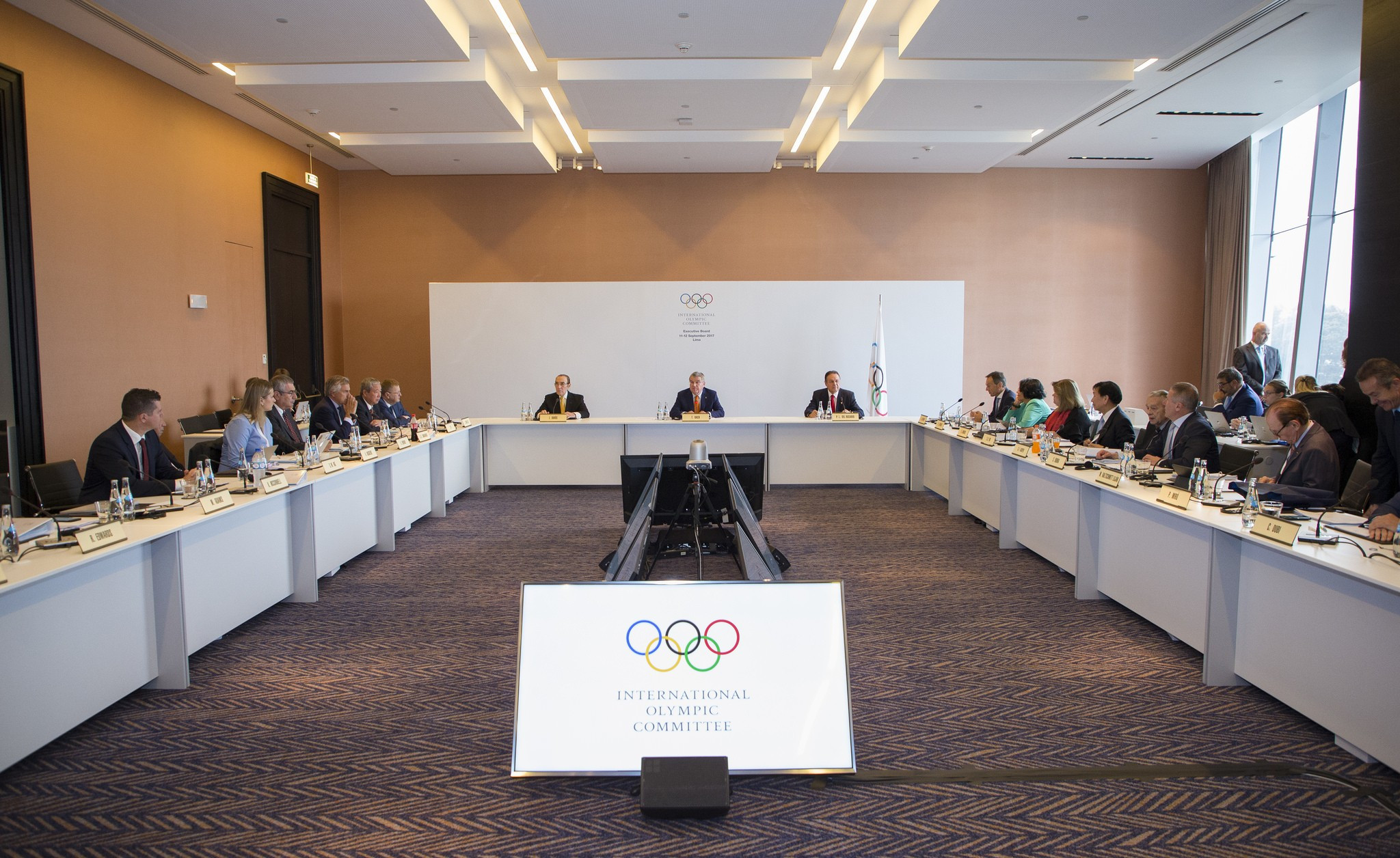 The IOC have publicly admitted votes for the Olympic Games may have been bought by Lamine Diack ©IOC