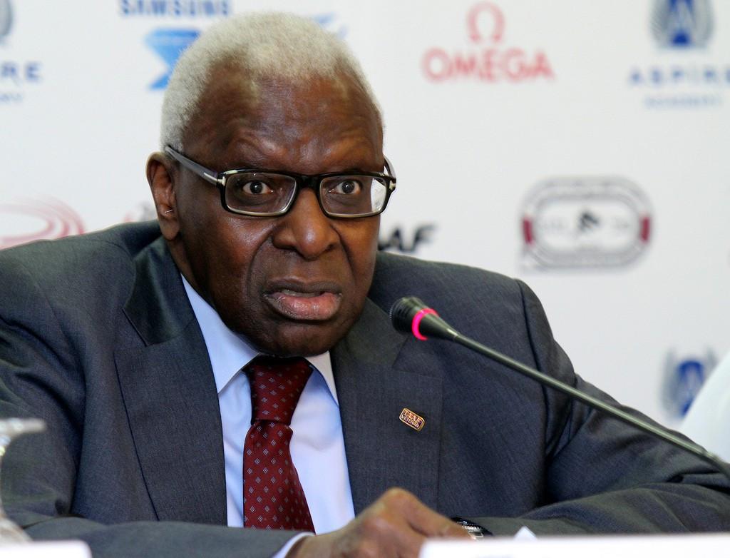 Former IAAF President Lamine Diack has been accused of widespread corruption ©IAAF