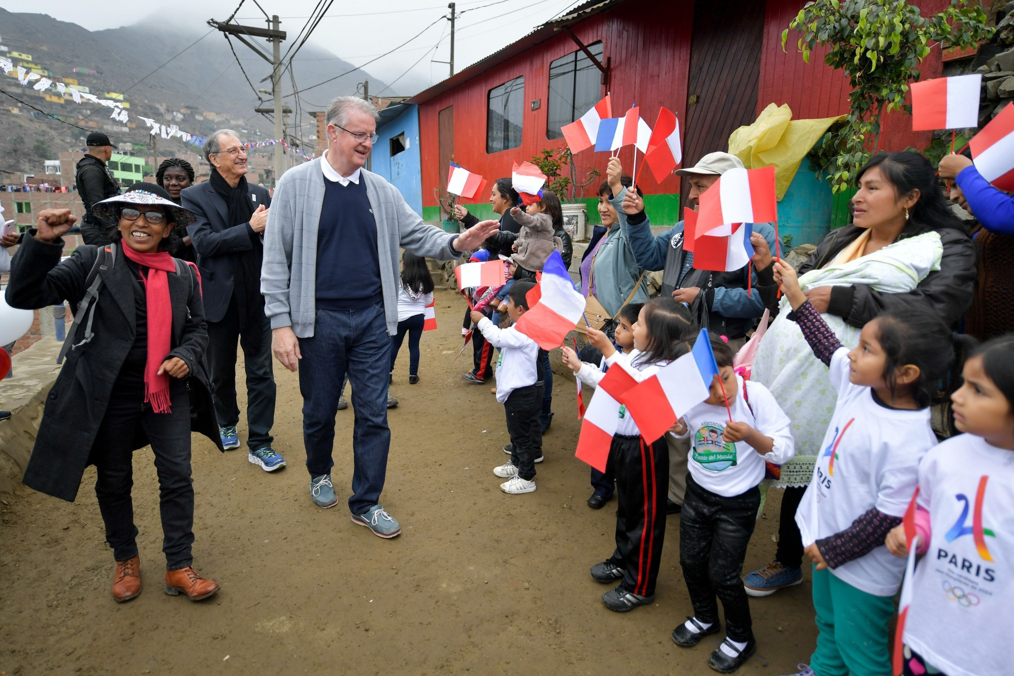 Paris 2024 pledge to continue supporting projects worldwide after visiting Lima initiative