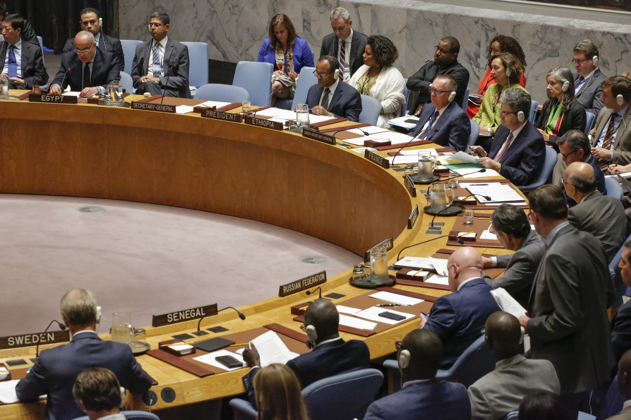 United Nations officials voted on North Korean sanctions today ©Getty Images
