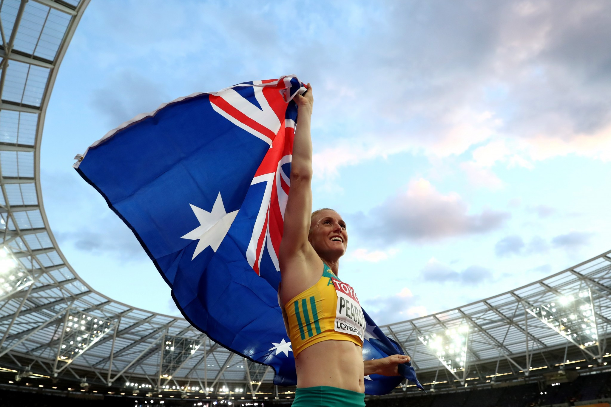 Sally Pearson, a former two-time winner, has been nominated again  ©Getty Images