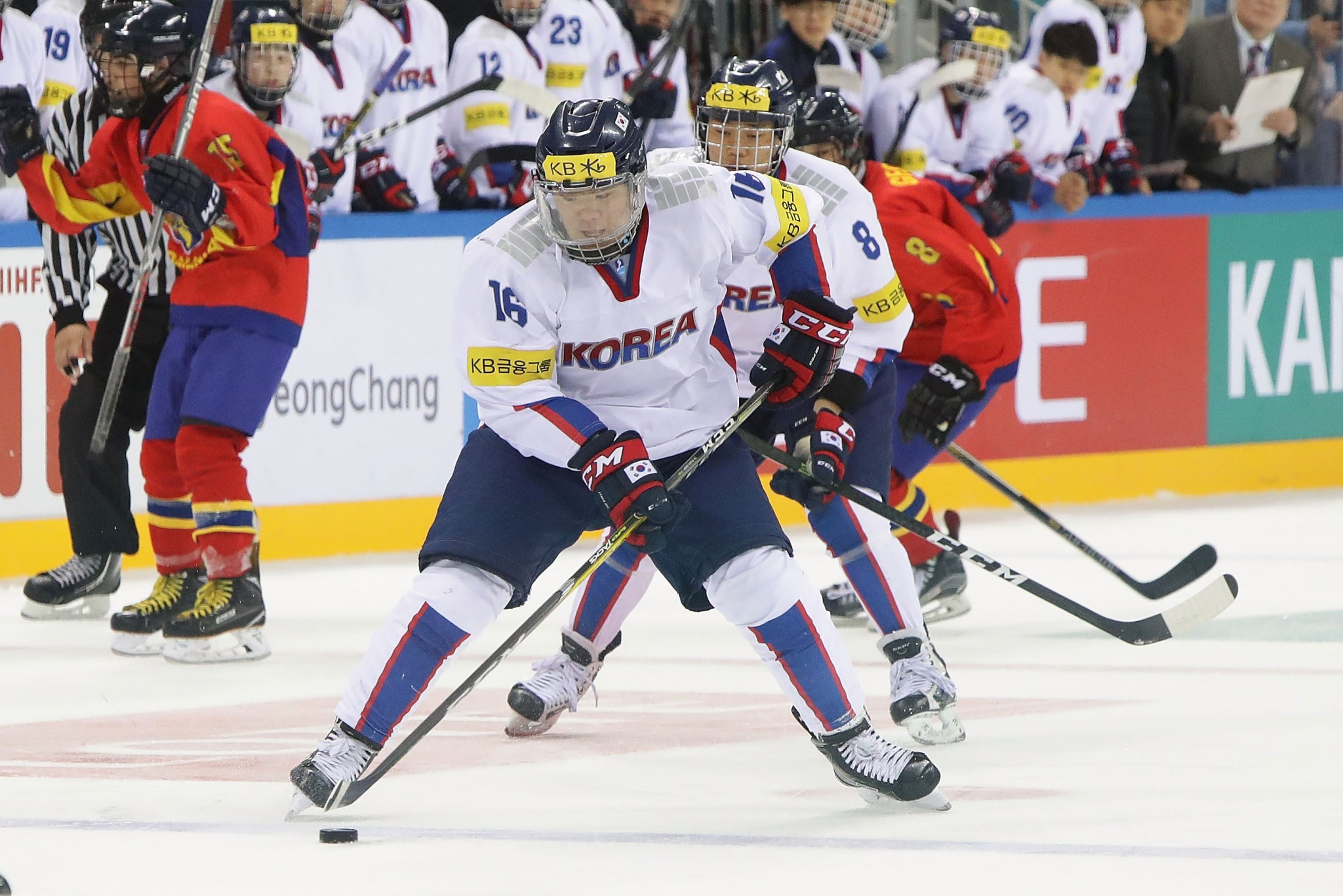 IIHF encouraged South Korea to recruit from overseas, official says