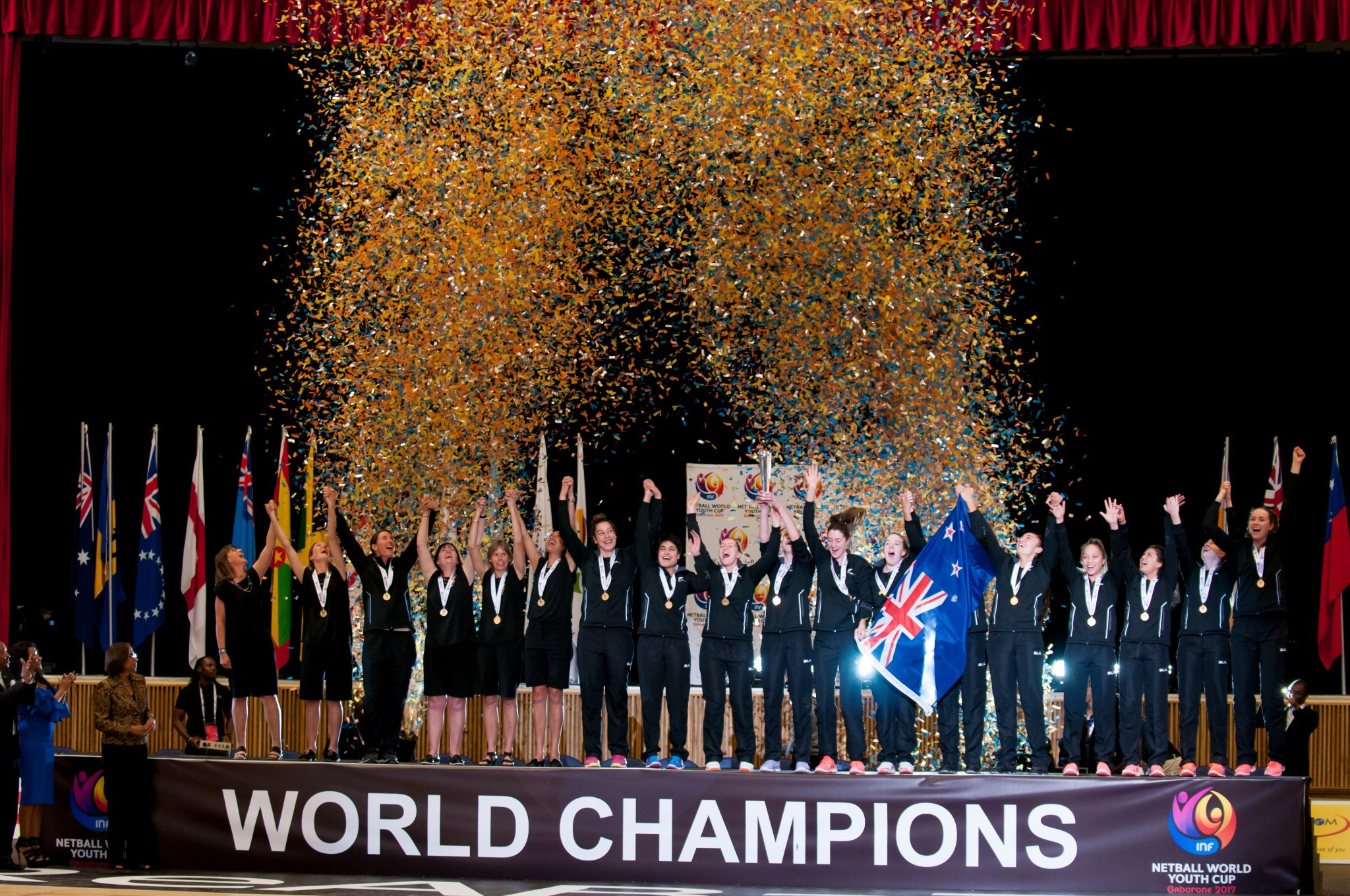 Botswana hosted this year's INF World Youth Cup where New Zealand came out on top ©INF