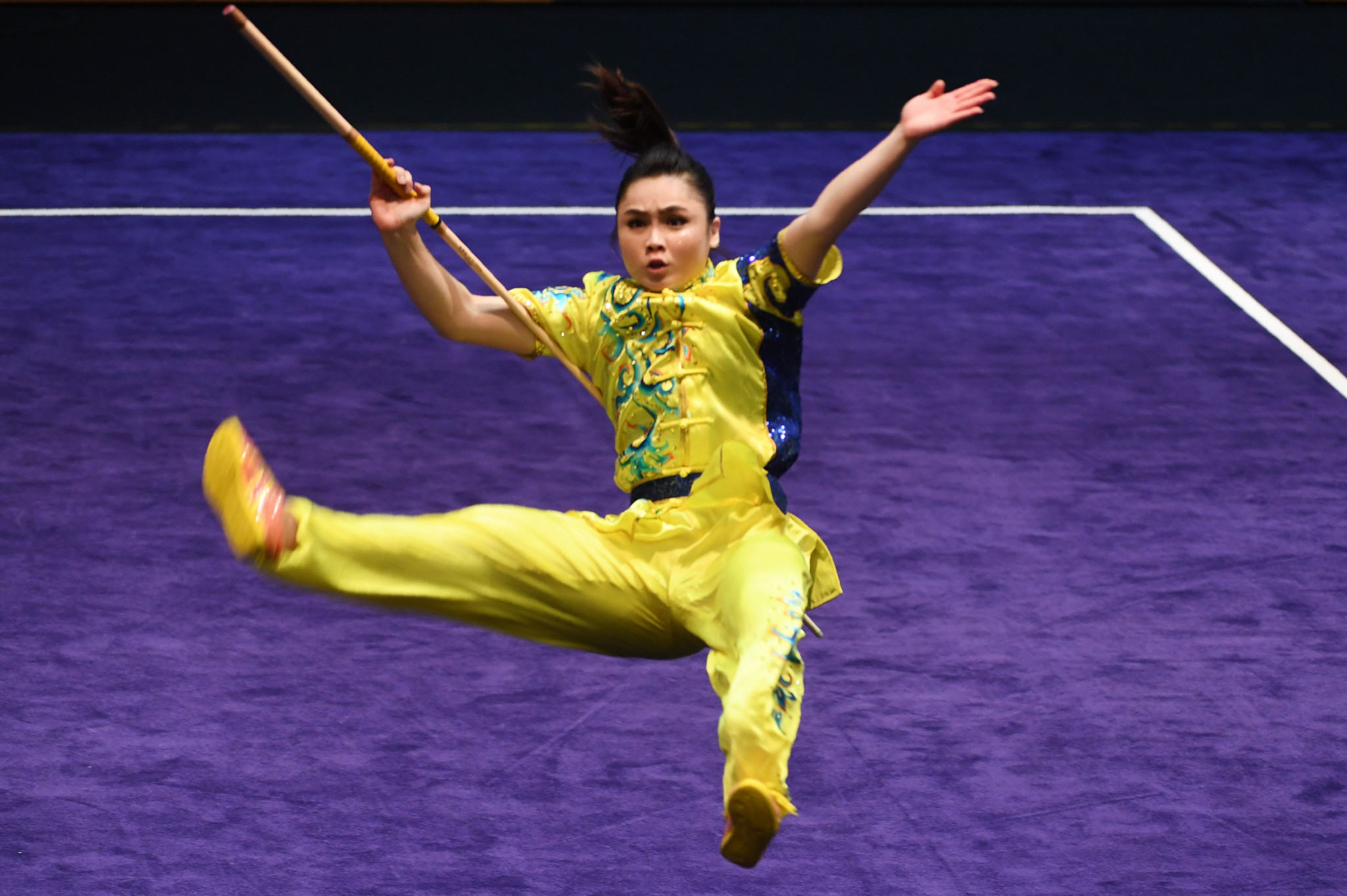 Wushu will take centre stage in Kazan this month ©Getty Images