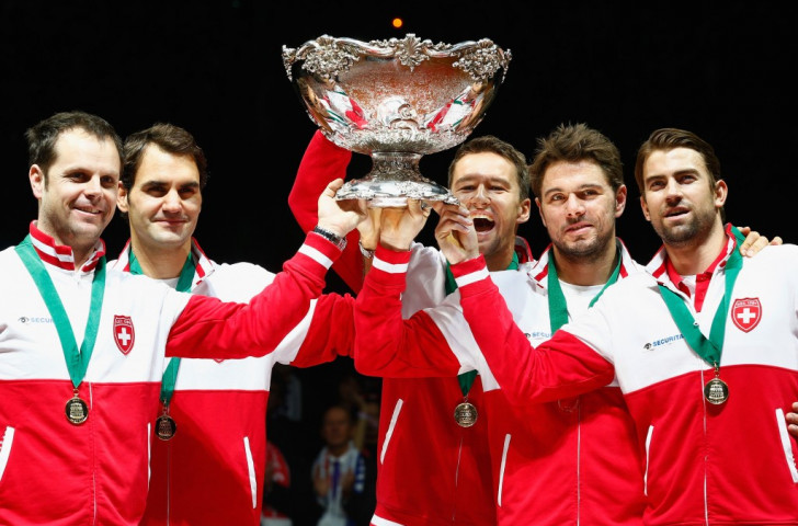 Switzerland are the reigning Davis Cup champions after beating France in last year's final