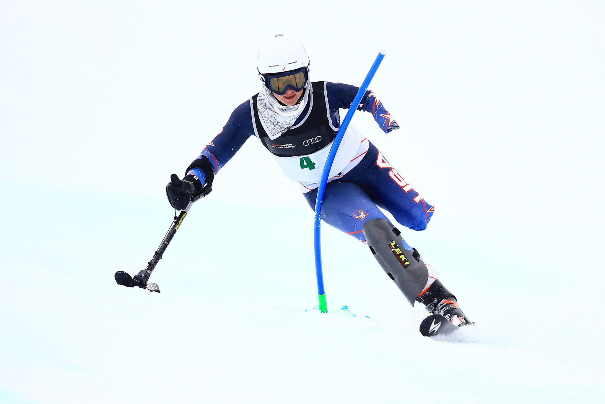Stephanie Jallen already boasts two Paralympic bronze medals ©Getty Images