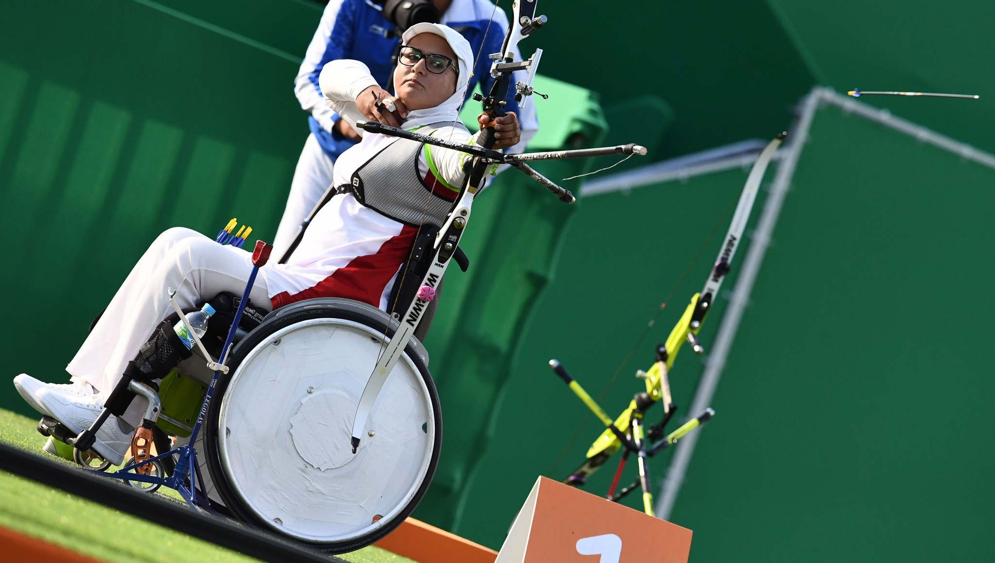 Zahra Nemati will be among six individual Paralympic champions present in Beijing ©Getty Images