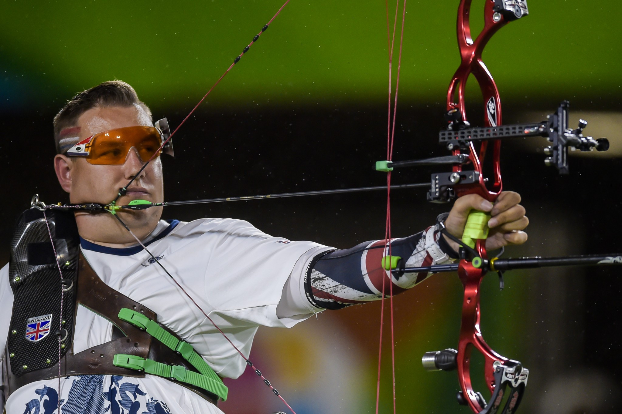 John Walker will look to follow up his W1 recurve Paralympic title with the world gold medal ©Getty Images