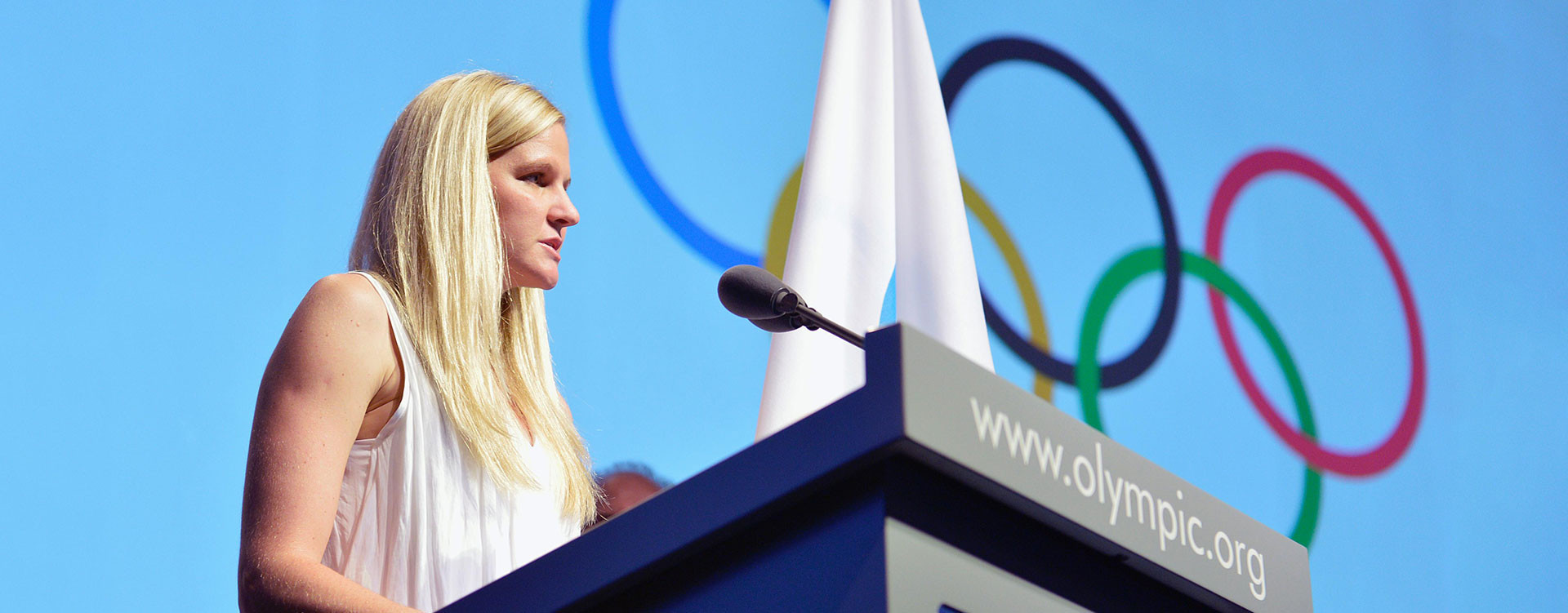 Zimbabwe's double Olympic swimming gold medallist Kirsty Coventry is expected to be represent the interests of athletes on the new Independent Testing Authority ©IOC