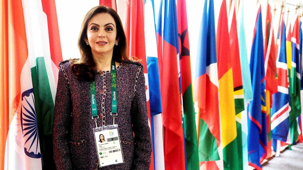 India's Nita Ambani will be among nine IOC members missing from the Session where Paris and Los Angeles will be officially awarded the 2024 and 2028 Olympic and Paralympic Games respectively ©YouTube