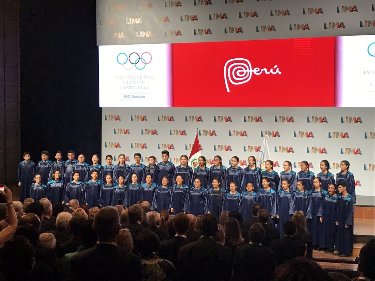 Opening Ceremony of the 131st IOC Session
