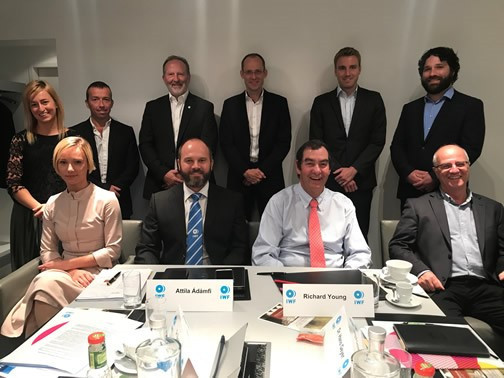 The IWF Clean Sport Commission held its first meeting in Frankfurt ©IWF