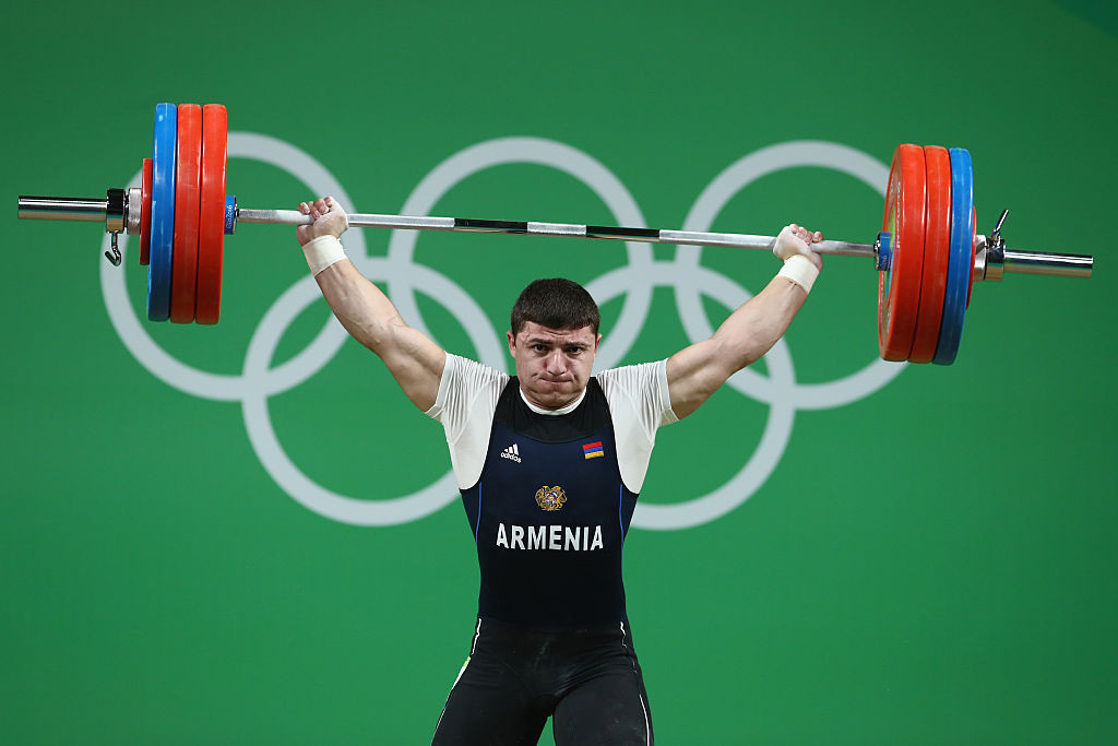 Weightlifting's Olympic place is under threat because of the amount of positive drugs tests the sport has recorded ©Getty Images