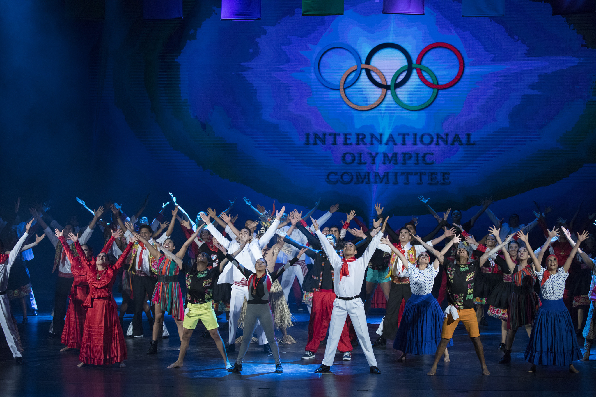 The Opening Ceremony of the 131st IOC Session took place at the Gran Teatro Nacional ©IOC
