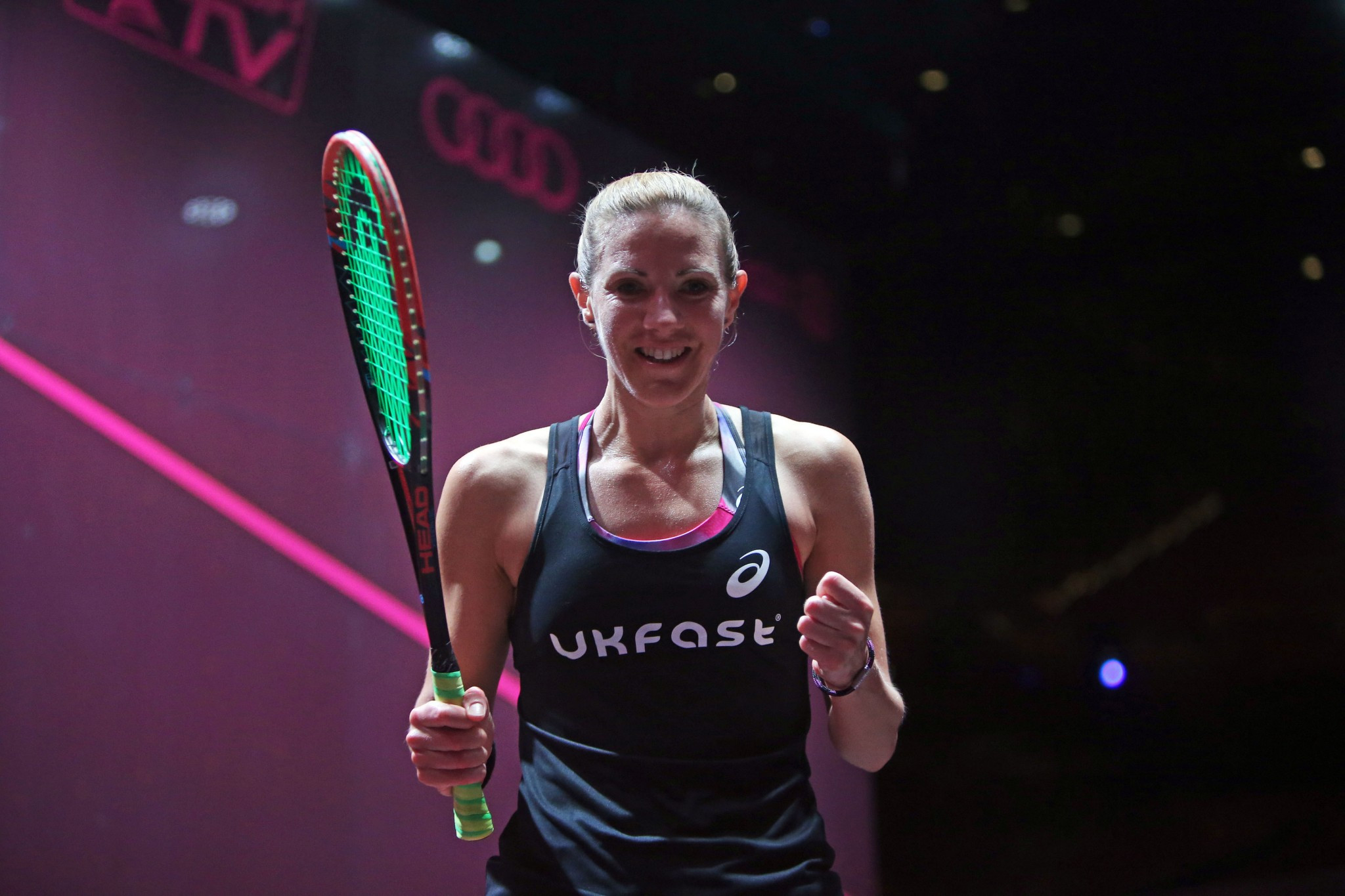 Laura Massaro is one leading player to back the coaching programme ©PSA