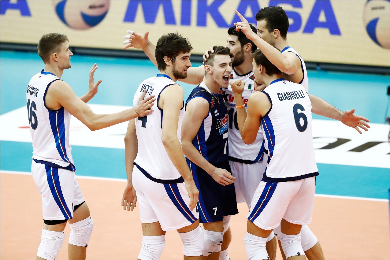 Italy won a thrilling Rio 2016 final repeat in Nagoya ©FIVB