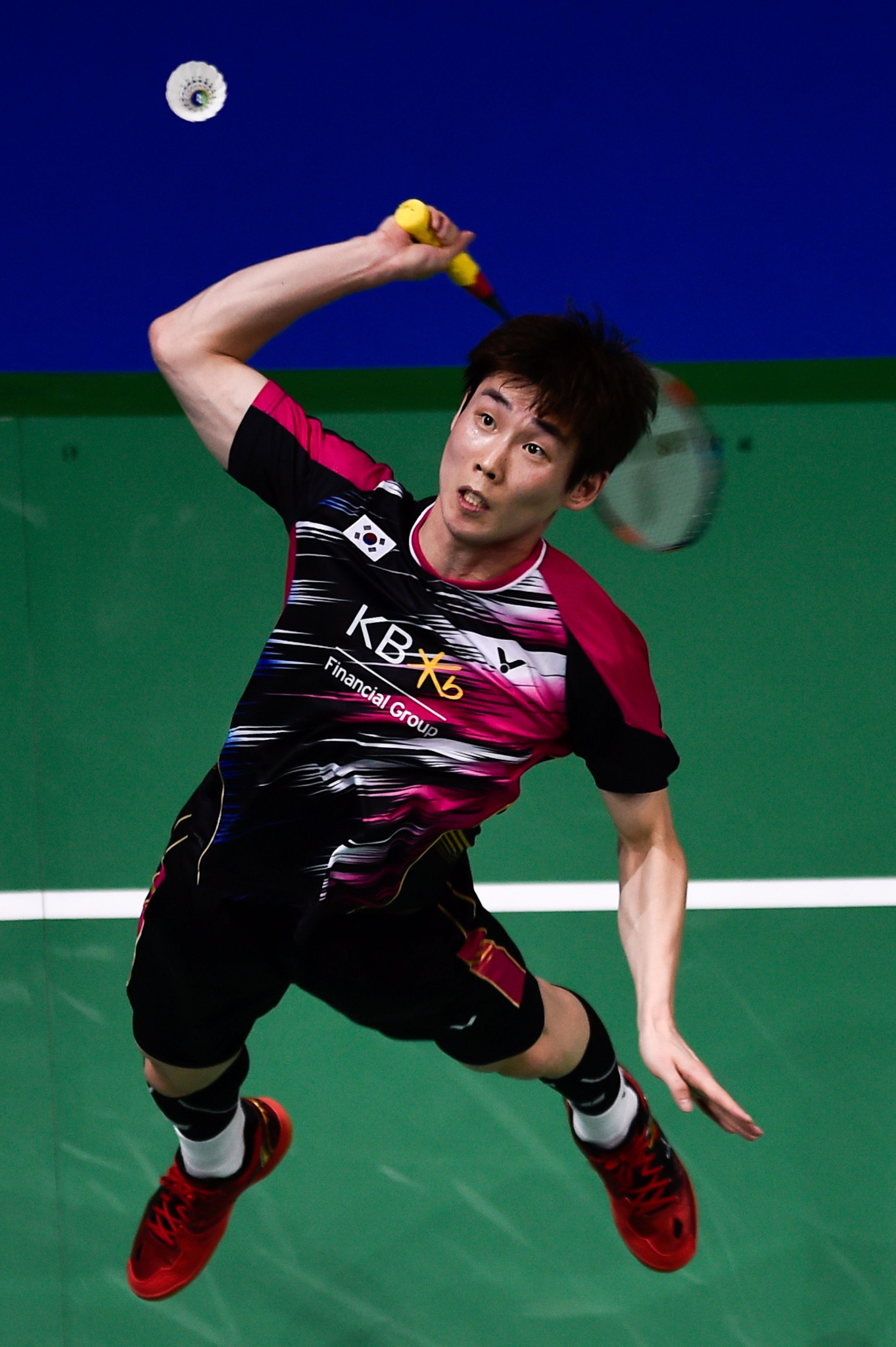 World number one Son Wan-ho is top seed in his home tournament ©Getty Images