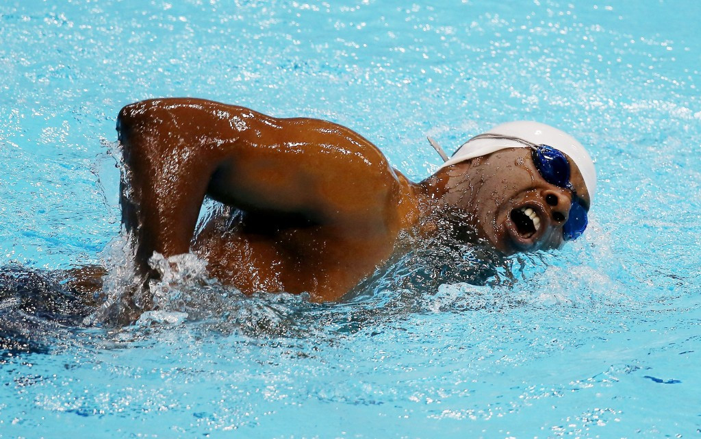 Curtis Lovejoy earned 50m backstroke gold medals at the Atlanta 1996 and Athens 2004 Paralympic Games